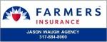 Farmers Ins Jason Waugh - New Pal Summer Fest Logo